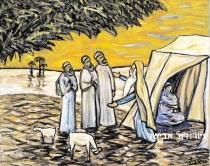 ציור מאת האמן דוד אבישר
