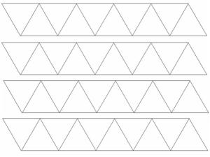 hexaflexagons patterns