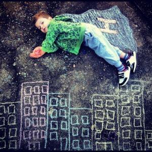 chalk building