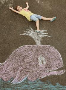 chalk whale