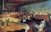 Cicero Denounces Catiline - Cesare Maccari